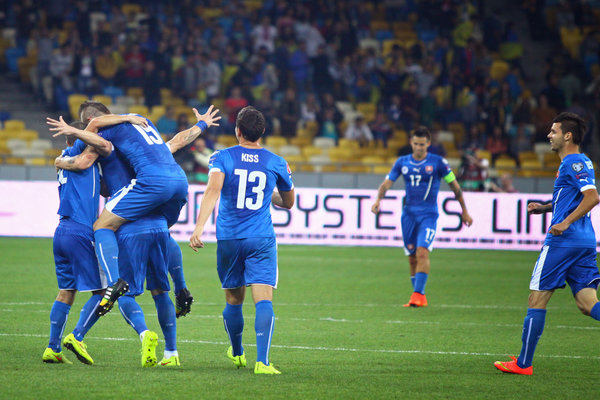 Slovakia celebration