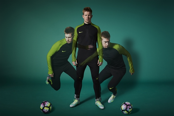 4cc6028023dd Kevin de Bruyne talks to Nike about the coming season, who he looks up to  in football, and his new boots, the Magista 2…
