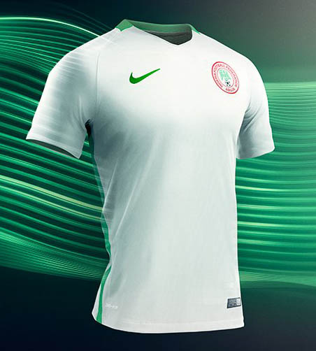 Nigeria Nike home and away kits 11c793c4a