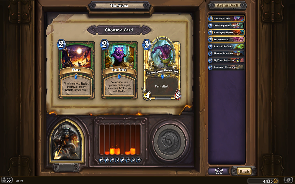 Where Do You Get Cat Trick Hearthstone