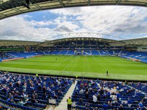 Brighton v Chelsea, AMEX, First game with fans since coronavirus lockdown ©KevMcCann