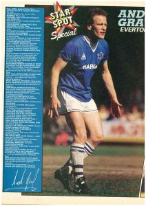 Andy Gray, What Happened To You podcast, 1984