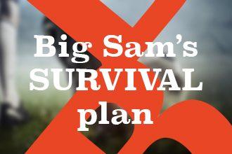 Big Sam Allardyce's survival plan