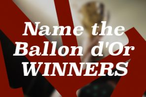 Football quiz: Name the Ballon d'Or winners