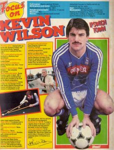KEVIN WILSON, Shoot magazine 85