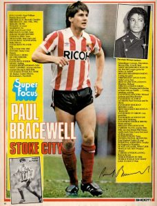 Paul Bracewell, Shoot, 82