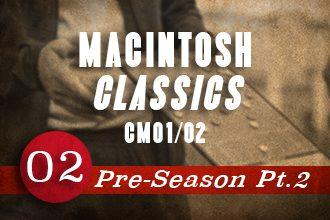 CM01/02 Iain Macintosh Pre-Season Pt2