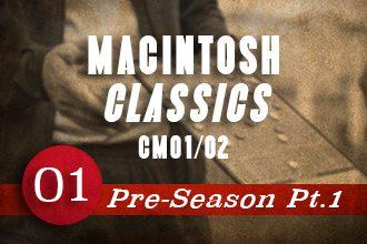 Iain Macintosh Classics: CM01/02 – Pre-season pt.1
