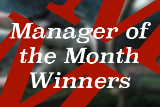 Football quiz: Manager of the Month winners