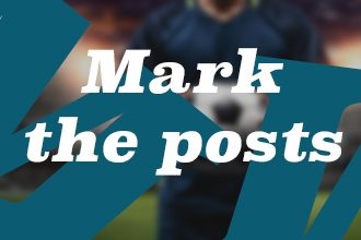 The dying art of sticking a player.on the posts