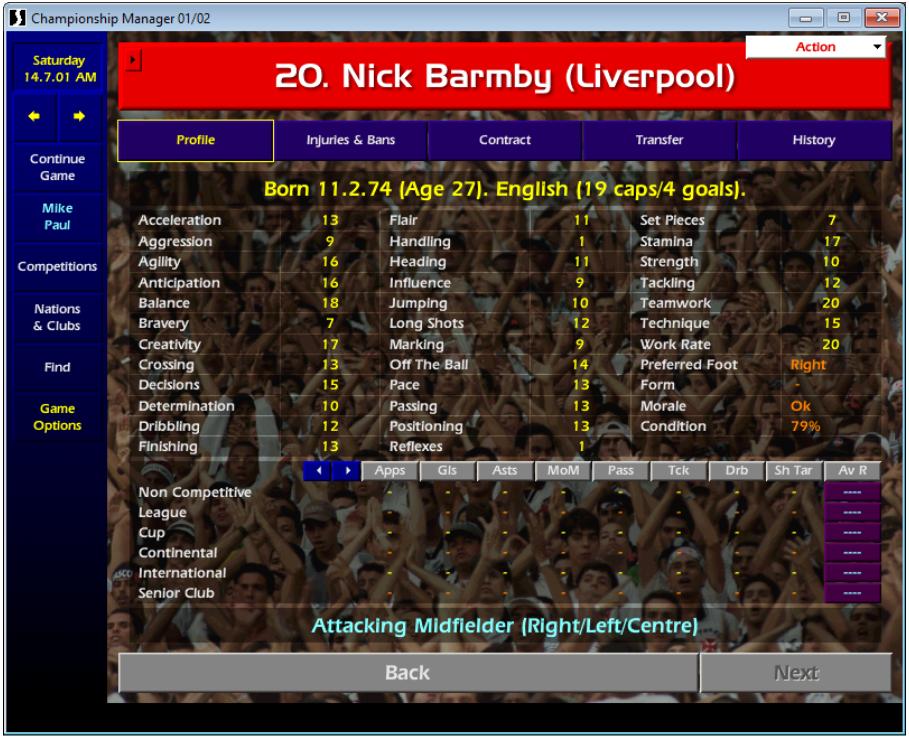 Nick Barmby CM0102