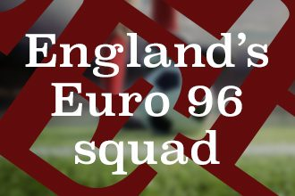 Quiz: Can you name England's Euro 96 squad?